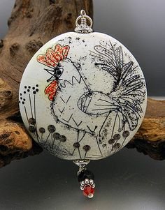 A friendly place to bring together glass and jewelry artists Chickens And Roosters, Rabbits, Lampworking, Beaded Animals, Venetian Glass, Christmas Bulbs, Christmas Ideas, Glass Paperweights, Stone Art