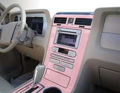 OMG OMG OMG!!! pink dash for my car..UHHHH-mazing! Sherwood Dash Kits - Sherwood Molded and Flat Dash Trim Kits
