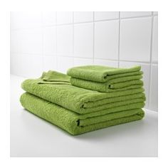 IKEA - HÄREN, Hand towel, A terry towel in medium thickness that is soft and highly absorbent (weight 400 g/m²).The long, fine fibers of combed cotton create a soft and durable towel.