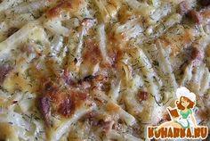 Рецепт: Запеканка картофельная со свининой