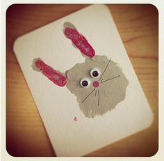 A bunny craft for spring