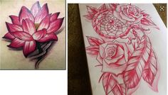 I'll be replacing the rose with a lotus