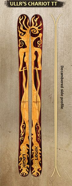 Really dig Skilogik skis.  Have 2 friends with them and they love 'em!  Would go custom with my kids on them or something unique.  Skilogik Ullr's Chariot TT