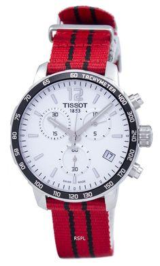 #Tissot #Quickster #NBA Chicago Bulls Chronograph T095.417.17.037.04 Men's Watch