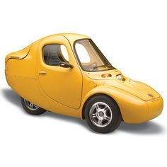The Electric One Person Car - Hammacher Schlemmer - Available in 14 different colors!