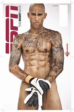 Tim Howard by James Dimmock for ESPN Magazine (The Body Issue)