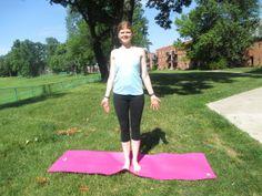 yoga workshop Fridays Tadasana