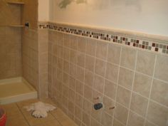 awesome bathroom floor tile ideas with grey color and bathtup also