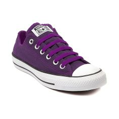 Shop for Converse All Star Lo Denim Sneaker in Purple Denim at Journeys Shoes. Shop today for the hottest brands in mens shoes and womens shoes at Journeys.com.The All Star knows no bounds. From b-ball courts  to punk clubs. From skateparks to school yards. The Converse All Star has come a long way, and its ready to take you even further. The original Old School never lets up. Converse All Star Lo featuring a purple denim upper with with matching lace closure, lining, and stitching. $49.99