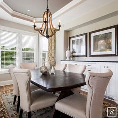 Artisan home tour by parade of homes gonyea homes dining room 2 pinned