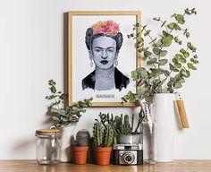 Láminas de Frida disponibles! Para más información contacta por privado! 🍃🌿 #drawing #illustration #art #watercolor #print #artoftheday #photooftheday #pictureoftheday #fridakahlo #decoration #design #artwork #work #artist #illustrator #nature #flowers