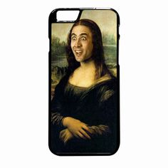 Mona Lisa Cagemona Lisa Cage iPhone 6 Plus case