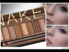 My TOP Naked Palette Makeup Looks! - YouTube
