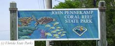 John Pennekamp State Park (Key Largo, Florida) We were here in 2011. Another awesome place to Snorkel.