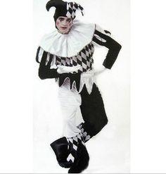 carnaval fantasias de cosplay traje de palhaço com macacão de chapéu para adultos homem engraçado divertido e inovador itens hot vender