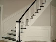 866118938c6d73d82130046b965a9c1e  curved staircase wainscoting - The Gardens Of Pleasant Plains Nj