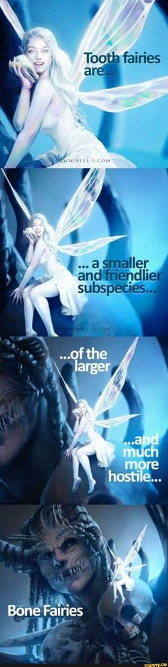 Tooth fairy More memes, funny videos and pics on Mythical Creatures Art, Mythological Creatures, Magical Creatures, Wow Art, Tooth Fairy, Funny Memes, Funny Videos, Dark Fantasy, Fantasy Characters
