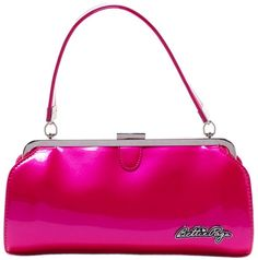 Sourpuss Hot Pink Bettie Page Cover Girl Purse