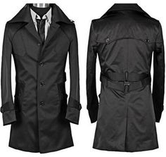 fbaf2456bd0ff Click to Buy    High quality black red beige autumn slim sexy trench.