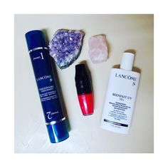 Currently obsessing over: (#ad) Lancôme Matte Shaker Liquid Lipstick Lancôme Visionnaire Crescendo Lancôme Bienfait UV SPF 50  #SkinIntervals #ShakeApplyDry @influenster @lancomeofficial #lancome I received these products free for testing purposes.