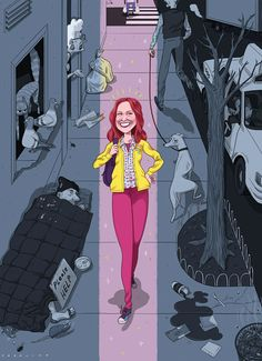 """There are lots of reasons to watch the new Netflix comedy darling """"Unbreakable Kimmy Schmidt"""": the catchy theme song, the sparkling Ellie Kemper, the relief and joy of relishing in the first post-""""30 Rock"""" series from Tina Fey. But Emily Nussbaum makes a strong argument for watching that you might not expect: The sitcom tells the story of a rape survivor, and deals with sexual violence in a sly and unexpectedly admirable way. — Jenna Wortham, Technology Reporter and Columnist"""