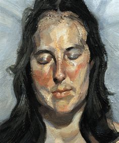 lucian-freud-2002-woman-with-eyes-closed.jpg 451×540 pixels