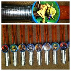 Star Wars light saber (bubble wands) for lil boys birthday party