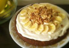 Torta vegana di banane e cocco - Senza glutine