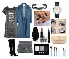 """""""Untitled #267"""" by pattieduraes on Polyvore featuring Sandy Liang, Chloé, Humble Chic, Eve Lom, MAC Cosmetics and NYX"""