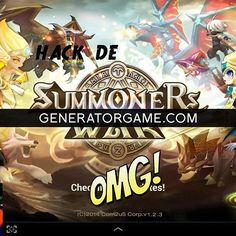 [NEW] SUMMONERS WAR HACK ONLINE 2016 REAL WORKS: www.online.generatorgame.com  Add up to 999999 Crystals Glory Points and Mana Stones: www.online.generatorgame.com  And also extra features to enable Unlimited Energy: www.online.generatorgame.com  Get it all for Free! Please SHARE this hack guys: www.online.generatorgame.com  HOW TO USE:  1. Go to >>> www.online.generatorgame.com and choose Summoners War image (you will be redirect to Summoners War Generator site)  2. Enter your Username/ID…