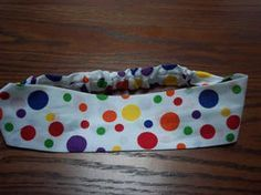how to make a headband - sewing pattern