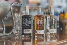 Old Harbor Distilling Co. — The Dieline - Package Design Resource