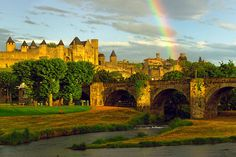 Carcassonne France - to visit my aunt & uncle.
