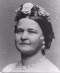 Mathew B. Brady photo of Mary Todd Lincoln in 1862