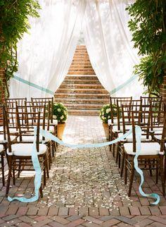 love wedding aisle