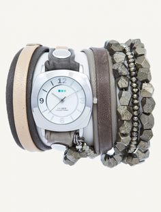 Venus Stones Wrap Watch