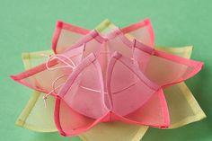 蓮の花の小物入れ(薄ピンク) | Pojagi jp