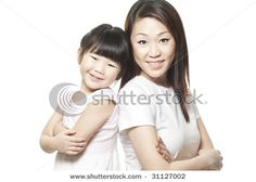 Cute mother and daughter pose #photography