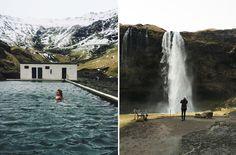 Vi dro innom Geysir, Blue Lagoon, Gullfoss, Seljavallalaug, Skógafoss, Dyrhóaley og Seljalandsfoss. Restaurantene jeg anbefaler er Fiskmarkaðurinn og... Blue Lagoon, Iceland, Waterfall, Outdoor, Ice Land, Outdoors, Waterfalls, Outdoor Games, The Great Outdoors