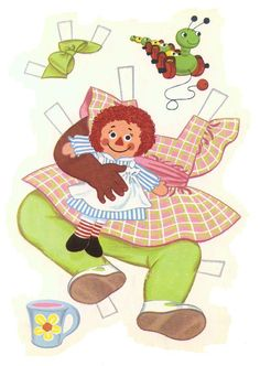 Paper Dolls~Baby Sue - Bonnie Jones - Picasa Web Albums Black / African-American / people of color paperdolls Foam Crafts, Diy And Crafts, Paper Crafts, African American Dolls, Raggedy Ann And Andy, Dress Up Dolls, Vintage Paper Dolls, All Paper, Retro Toys