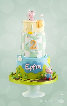 Peppa and George Cake | Tracey | Flickr