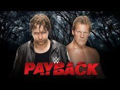 Wrestling Revolution 3D: Dean Ambrose vs. Chris Jericho (WWE Payback 2016)