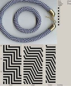 Beautiful bead crochet patterns.
