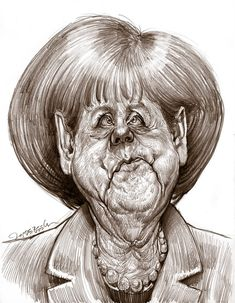 Caricature by Jan Op De Beeck (4)