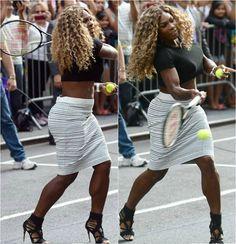 Serena Williams on david Serena Williams Bikini, Serena Williams Wedding, Serena Williams Tennis, Venus And Serena Williams, Serena Tennis, My Black Is Beautiful, Beautiful Women, Black Girls Rock, Celebs