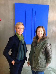 "Artwork van Catherine Vandeven by POLYEDRE met Natasha Hermans  ""Place to be for Originals"""