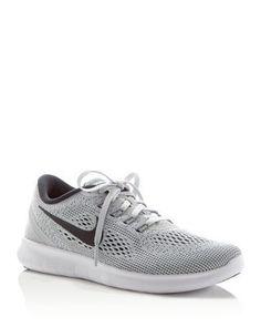 2016 $110 Nike Free Run Natural Lace Up Sneakers | Bloomingdale's