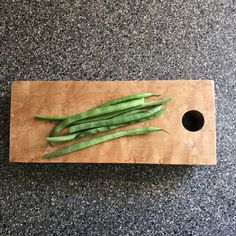 Small Tapered Birdseye Maple Cutting Board by BlantonsWoodworks