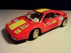 Ferrari 348 tb Evoluzione Rennwagen 1:18