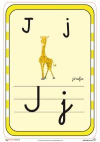 abecedario en color j Activities For Kids, Crafts For Kids, Teaching The Alphabet, Preschool, Symbols, Letters, Dado, Got7, Animal
